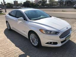 Ford Fusion Titanium Hybrid Ano: 2014 Top de linha Raridade Eletrico