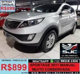 Kia Sportage  LX 2.0 16V 4x2(P.324) GASOLINA MANUAL - 2011