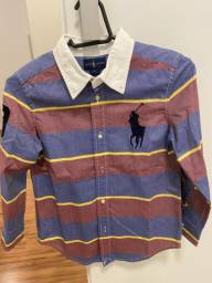Camisa Ralph Lauren Infantil
