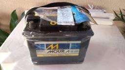 Bateria Moura de 60 amperes - seminova testada pela fabricante