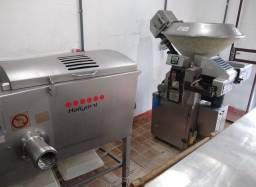 Maquinário de fabricar carne de hambúrguer