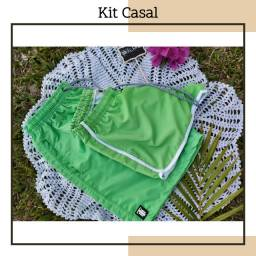 Shorts casal, moda praia e piscina (produtos novos)