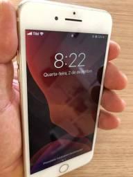 IPhone 7 Plus 32 GB cor Prata bem conservado