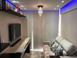 Apartamento 3 dormitórios no Portal dos Ipês, Bem Viver, LED azul Yamaha