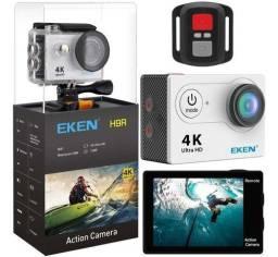 Eken H9R lente de 170º grande angular, contr remoto, case à prova d?água e acessórios