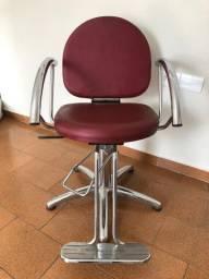 Cadeira cabeleireiro Van de veld