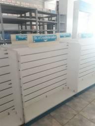 Gôndolas em Mdf para farmácia