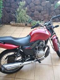 CG Fan 125 KS 2011 troco por moto mais nova 150 ou 160cc