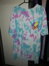 Camisa Tie Dye Os Simpsons (TAMANHO G)