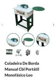 Coladeira de bordas manual CBL portátil monofásico Leo madeira.