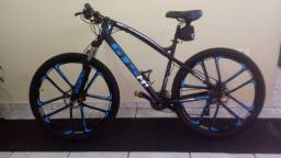 Bicicleta Gts M1 Aro 29 Freio Á Disco I-vtec Mx9 Magnésio 27v - Pouco Usada