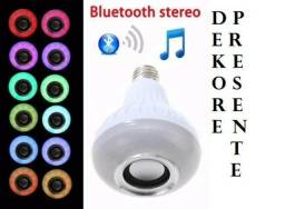 Lampada Musical com Bluetooth e Controle Remoto