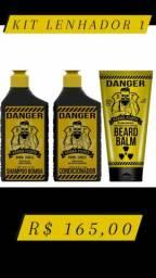Kit lenhador Shampoo + Condicionador + Balm