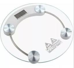 (NOVO) Balança de Banheiro digital Peso Corporal Vidro Temperado 180kg