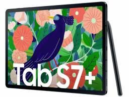 """Samsung Galaxy Tab S7 Plus 12,4"""" Black + capa teclado"""