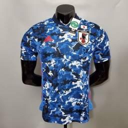 Camisa Japão Home Camuflada Azul 20 / 21 - Jogador