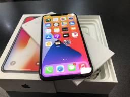 IPhone X 64gb semi novo