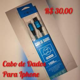 Cabo de Dados Celular Iphone.