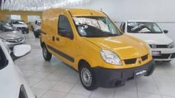 Renault Kangoo Express 1.6 Flex 2012 Amarela Porta Lateral Únido Dono Doc OK