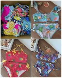 Lote moda praia infantil