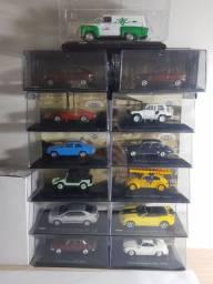 Miniaturas escala 1/43 a partir de R$ 60