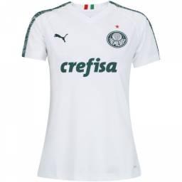 Camisa Feminina Palmeiras Away (Branca) - 2019 / 2020