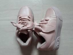 Calçado feminino infantil