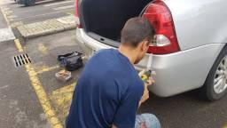 Sensor de estacionamento re 4 pontos ja instalado a domicilio para curitiba