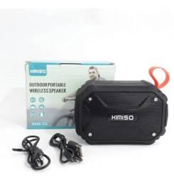 Caixa de Som Bluetooth Portátil à Prova d'água Kimiso-112 (NOVO)