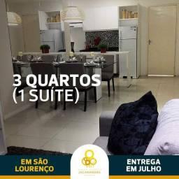 .Apto 03 quartos /01 suíte e lazer completo com Zero de Sina em Sao Lourenço