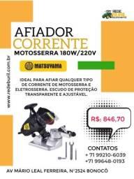 Afiador Corrente Motosserra 180W/220V