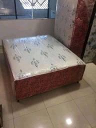 < Vendo e entrego cama box casal luxo nova >