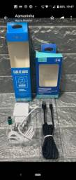 Kit carregador + cabo usb
