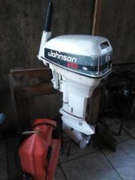 Motor de popa johnson 15hp com NOTA FISCAL