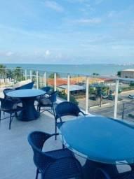 Apt 2 quartos, semi-mobiliado, em frente ao Fullano Praia