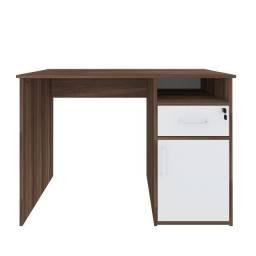 Mesa Escrivaninha Hall Ipê/Branco