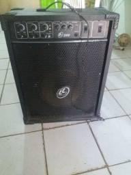 caixa amplificada usada
