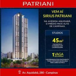 Antecipre-se ao Lançamento Sirius Patriani Studios 1 Dorms,Cozinha,Banheiro,Sala,Varanda,1