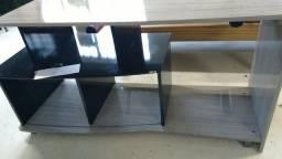 Rack em madeira usado