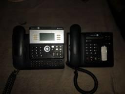 Aparelhos VoIP Alcatel.