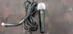 Microfone Shure Sv100 C/ Cabo 03 Metros Original
