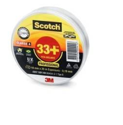 Título do anúncio: Fita Isolante 3m Scotch 33+ 19mm X 20 Metros Suporta 105°c