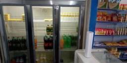 Freezer, Balança e Fatiadeira para fatiar bolonha