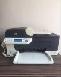 Título do anúncio: Impressora Hp Officejet J4660 All In One - Acompanha 2 cartuchos novos