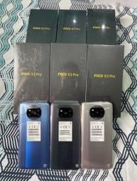 Título do anúncio: Xiaomi poco X3 pro 128GB 6GB ram tela 6.67 lacrados originais