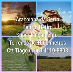 Terrenos / lotes para chácaras em Araçoiaba da Serra