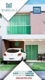 114//Condominio De Casa Duplex no Araçagy!!!