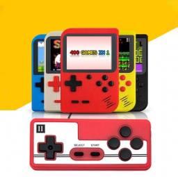 Mini Vídeo Game Retro Clássico 400 Jogos Mini 2 Player Com Controle A20