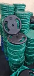 Peso Academia 10kg por R$ 79,90 / Distribuidora de Anilha e Halteres