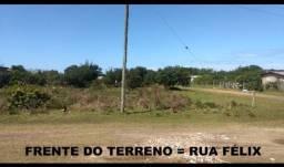 Terreno de esquina 396m² em Torres - 12mx33m